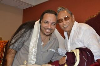 Freddie Trancoso. mentor and Lama Tharchin Rinpoche