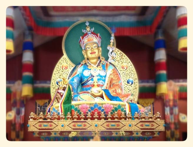 Guru Rinpoche at Pema Osel Ling