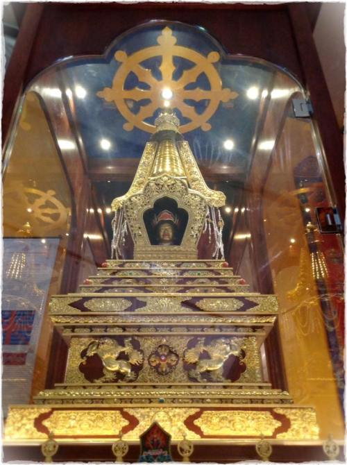 Dungse Thinley Norbu Rinpoche Kudung Stupa at Pema Osel Ling